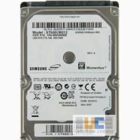 Винчестер HDD SATA 500 GB от ноутбука Samsung R523