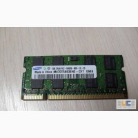 Память DDRII 2GB от ноутбука Samsung R523