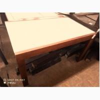 Продам стол б/у раскладной светлый