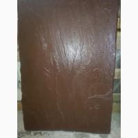 Надежная, импортная каменная плита 900*600*30 мм, сочный темно - коричневый цвет