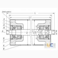 Ролики конвейерные диаметром 50 - 152 мм