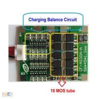BMS 4S 30-70А, 14.8V Контроллер заряда разряда с балансиром