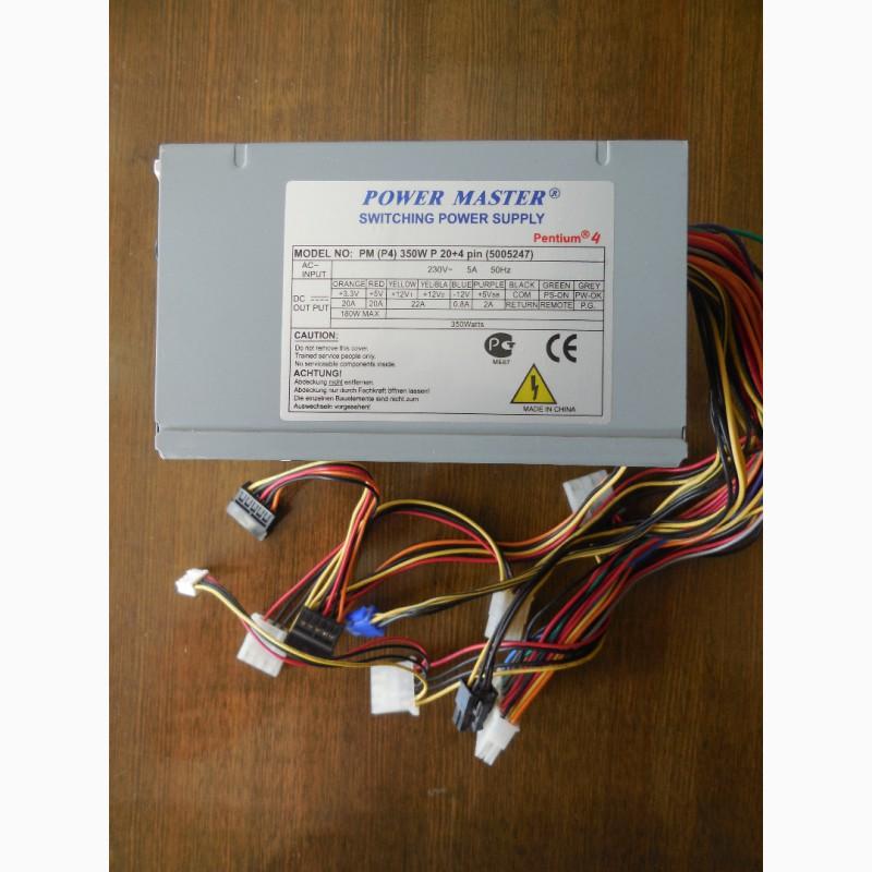 Блок питания Power Master PM P4 350W P 204 pin 80FAN