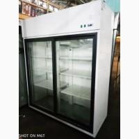 Шкаф холодильный со стеклянными дверьми Igloo OLA 1400.2 S/B AG