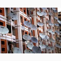Установка спутникового ТВ и цифрового телевидения Т2 в Малиновском районе г. Одессы