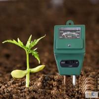 Измеритель кислотности pH, влажности, освещенности почвы