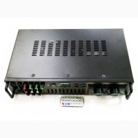 Усилитель AV-663BT Bluetooth FM SD USB AUX Караоке 4xМикрофон