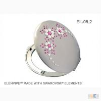 Зеркальца косметические оптом EL-05, 06 Flowers