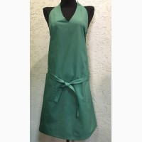 Фартук-платье с нагрудником М69