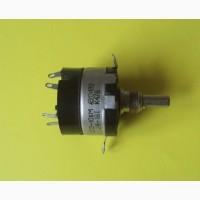 Переменный резистор СП3-10бМ, 1Вт, 470 Ом с двухполюсным выключателем