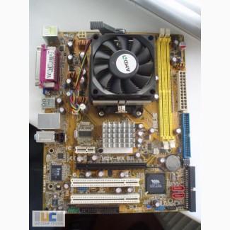 Материнка AM2 + процессор + охлаждение