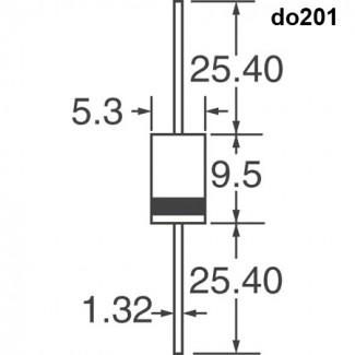 Супрессоры (трансилы) мощностью 1500 ватт (38 наименований)