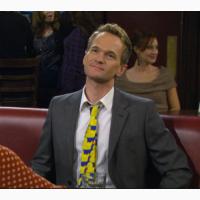 Галстук Барни из сериала Как я встретил вашу маму