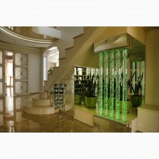 Водно пузырьковые колонны от дизайн студии Романа Москаленко