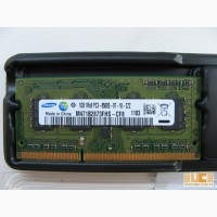 Продам SoDIMM 1GB DDR3 PC3-8500 Samsung