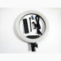 Кольцевая LED лампа AL-33 33см 220V 1 крепл.тел. + пульт