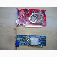 Видеокарта Pci-express 128 мб. + Agp 128 мб