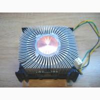 Радиатор с медной вставкой. Для 478 сокета