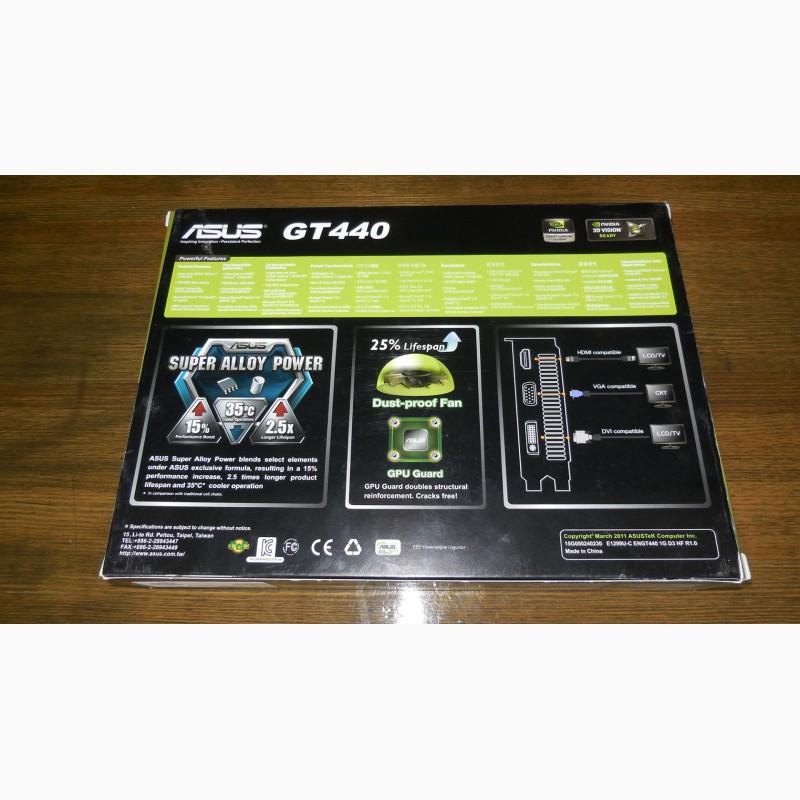 Фото 6. Asus PCI-Ex GeForce GT 440 1024MB