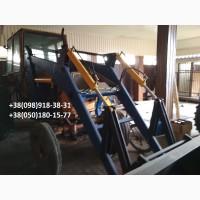 Фронтальный погрузчик на трактора МТЗ, ЮМЗ, Т-40 с выгрузкой 4, 5м с быстросъемным ковшом