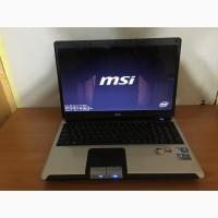 Производительный ноутбук MSI CX600 (2дра 3Гига)